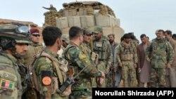 ارشیف، ننګرهار کې افغان سرتیري