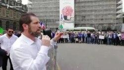 Французские чеченцы вышли на митинг против терроризма