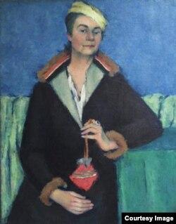 Мария Джагупова. Портрет Елизаветы Яковлевой, 1935. Частное собрание