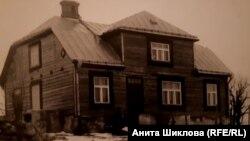 Дом семьи Эзериньш на хуторе Витола