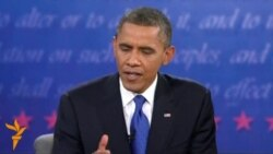 Последно соочување Обама - Ромни пред изборите