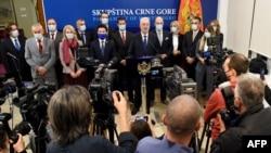Vlada Crne Gore na čelu sa premijerom Zdravkom Krivokapićem, Podgorica (decembar 2020.)