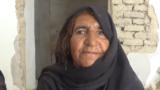 Afghanistan - Farah Province - displaced person Nazanin - screen grab