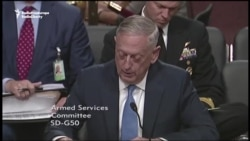 Mattis Says Afghanistan Settlement Possible If Taliban Rejects Terrorism