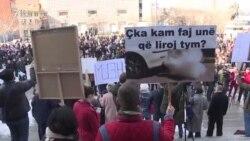 Во Приштина протест против аерозагадувањето