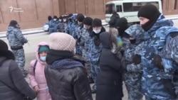 В столице протестовали против законопроекта о домашнем насилии