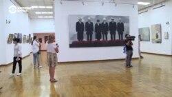 Кыргызстанские соцсети взорвала картина с выставки «Новый соцреализм»