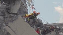 Рятувальна операція в Генуї після обвалу мосту