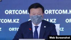 Министр здравоохранения Казахстана Алексей Цой