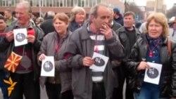 Марш против сиромаштија во Скопје