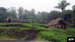 Вёска Намакара ў Вануату. Ілюстрацыйнае фота