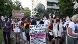 Беларуста миңдеген киши дагы акцияга чыкты