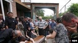 Осетин хоронят по обе стороны Кавказского хребта