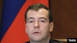 Рускиот претседател Дмитри Медведев