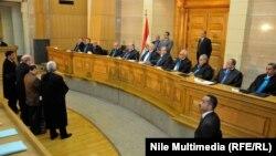 في المحكمة الدستورية العليا