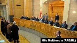 Архивска фотографија- Седница на судот во Каиро