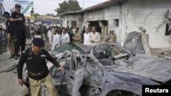 La locul unui atac terorist la Quetta
