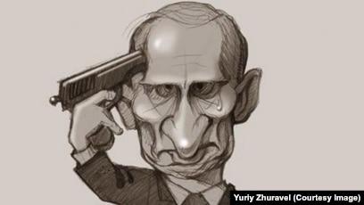 Afbeeldingsresultaat voor карикатуры на путина