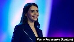 Марыя Васілевіч на конкурсе «Міс Беларусь» у 2018 годзе