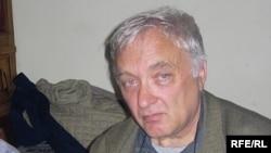 Алексей Берелович во время записи программы Радио Свобода, 2006
