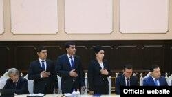 На встрече президента с новоназначенными кадрами ГБАО. 18 сентября 2018 года. Фото пресс-службы президента РТ