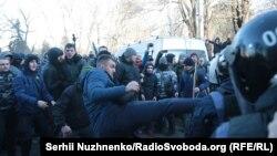 Сутички під Верховною Радою в Києві, 17 грудня 2019 року