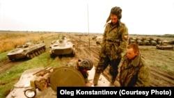Псковские десантники в Чечне (архивное фото)
