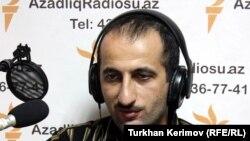 Свидетель на суде, журналист Идрак Аббасов