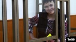 Նադեժդա Սավչենկոն ռուսաստանյան դատարանի դահլիճում, արխիվ