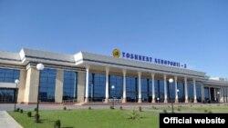 Международный пассажирский терминал аэропорта столицы Узбекистана («Ташкент-3»).