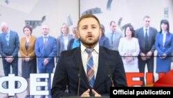 Говорителят на ВМРО-ДПМНЕ Димче Арсовски