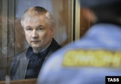 Former Bashkortostan senator Igor Izmestyev in a Moscow court in 2010.
