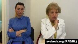 Натальля Ліцьвіненка і Тамара Сідарэнка