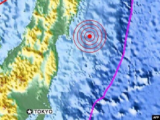 Magnituda zemljotresa koji je pogodio Japan