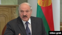 Presidenti i Bjellorusisë Alyaksandr Lukashenka
