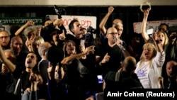 Демонстрация протеста в Тель-Авиве
