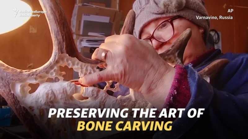 Preserving The Art Of Bone Carving In Russia