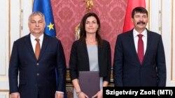 A magyar jogállam őrei: Orbán Viktor miniszterelnök, Varga Judit igazságügyminiszter és Áder János köztársasági elnök