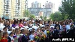 Казанның 155 санлы татар гимназиясе беренче сыйныфка 98 укучы кабул итте