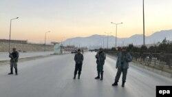 Сили безпеки Афганістану перекрили дорогу до парламенту після двох вибухів, Кабул, 10 січня 2017 року