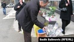 Kupovina cvijeća za 8.mart, Srebrenica