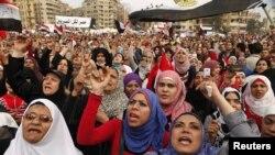 Демонстрація на площі Тахрір у Каїрі, 27 листопада 2012 року