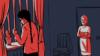 Похищение невесты. Иллюстрация казахской службы РСЕ/РС