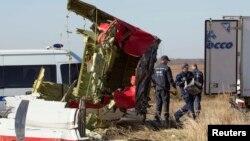 Vendi ku është rrëzuar aeroplani malajzian në lindje të Ukrainës.