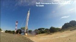Испанские студенты запустили самодельную ракету на высоту 21 км