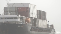 Authorities Begin Unloading Beached Ship Near Karachi