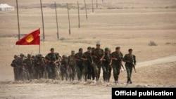 Учения военных на границе. Иллюстративное фото.