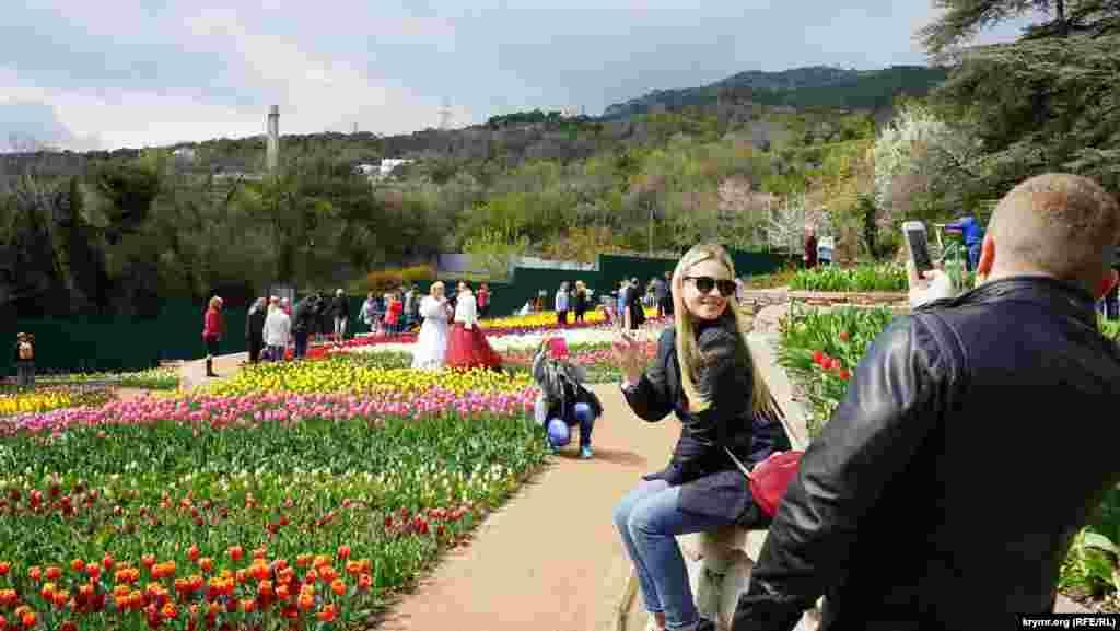 Кримський парад тюльпанів у Нікітському ботанічному саду, 10 квітня