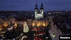 Ілюстраційне фото. Центр Праги в період різдвяних свят