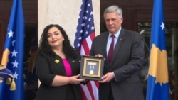 U.S. President's Late Son Beau Biden Honored In Kosovo